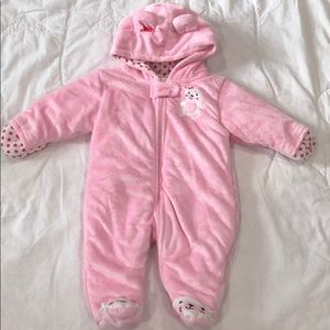 Warm and Cozy Carter's Bear Footed Onesie 💗